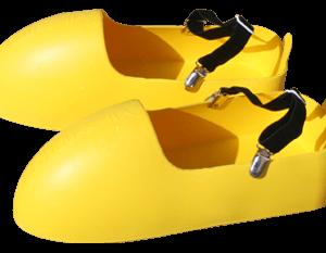 Chauss' & Clip pour marcher plus facilement avec les surchaussures Chauss'in